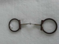 D Snaffle with copper inlay