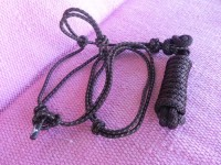 Rope halter and lead rope